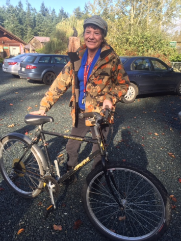 Bike recipient
